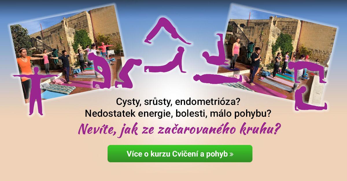 Online kurz Cvičení a pohyb pro ženy s nemocemi lůna