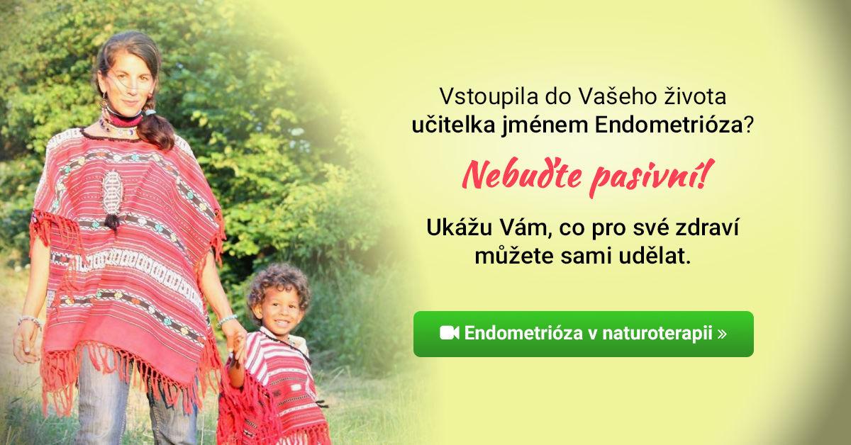 Přednáška Endometrióza v naturoterapii