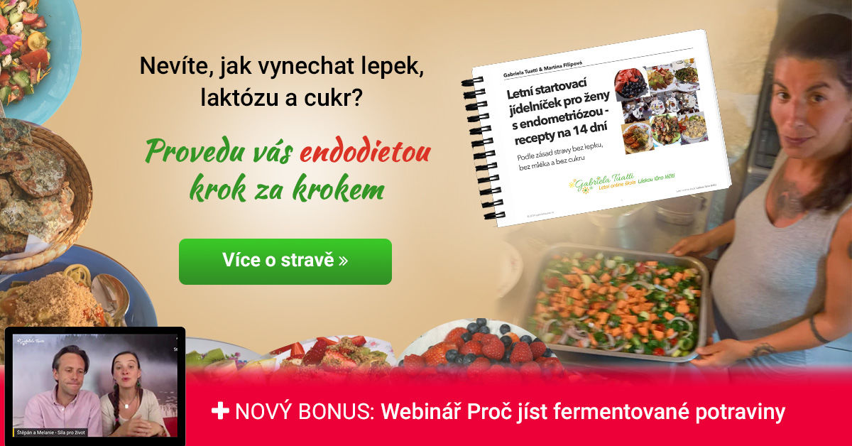 Online kurz Strava pro ženy s endometriózou