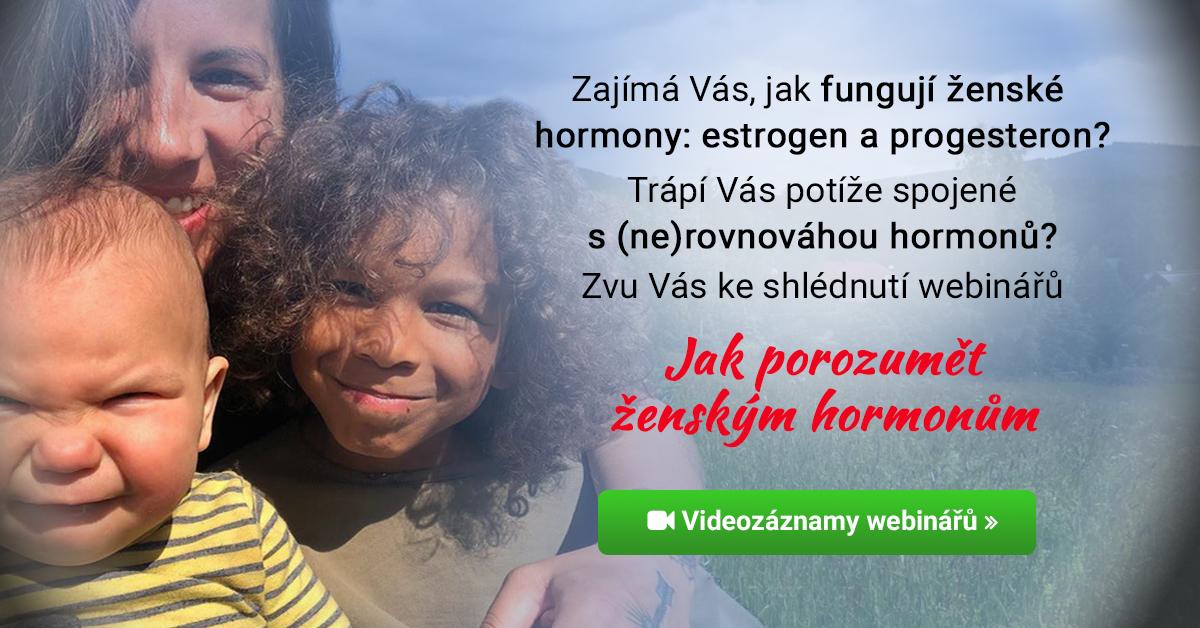 Webináře Jak porozumět ženským hormonům